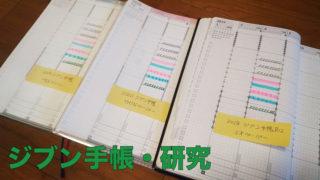 ジブン手帳・研究